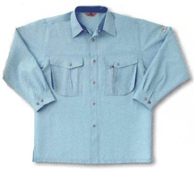 画像1: WA/AG10009 長袖シャツ (4色) (1)