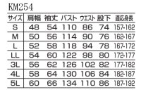 画像1: KM254 Kansaiツヅキ服 (3色)