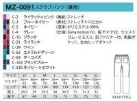 画像1: MZ-0091 男女兼用パンツ (11色)