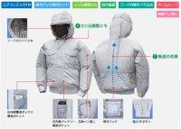 画像3: NB101【ブルゾンのみ】NSP空調服/長袖・フード