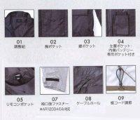 画像3: AR12004【ブルゾンのみ】空調服/長袖・サマーシールド