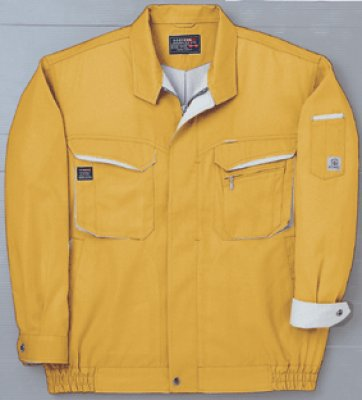 画像1: WA/AG10471 長袖ブルゾン (7色) (1)