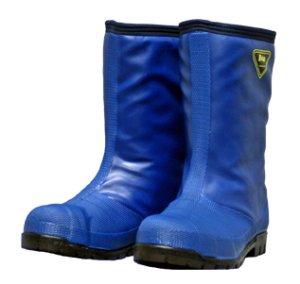 画像1: NR021 冷凍庫用〈-40℃対応〉防寒安全長靴 (ネイビー) (1)