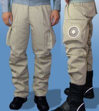 画像3: KU90730 空調服【ズボンのみ】ズボン・混紡