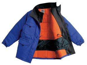 画像1: BO/ST8000 冷凍倉庫用防寒コート (1色) (1)